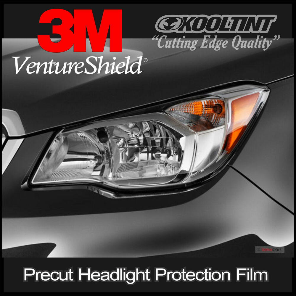 headlight protection film by 3m for 2014 to 2016 subaru forester ebay. Black Bedroom Furniture Sets. Home Design Ideas