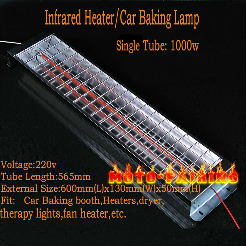 Spray Baking Booth Infrared Carbon Fiber Paint Heater