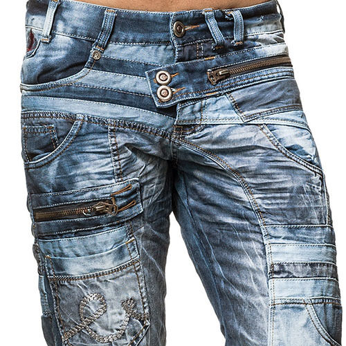 K&M KOSMO LUPO CHASE MENS JEANS DENIM ALL SIZES