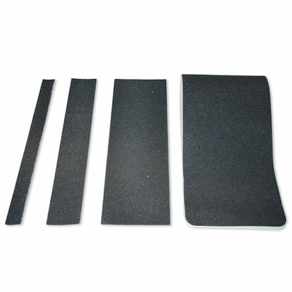 Non Slip Stair Treads Black Safety Anti Skid Tape High Traction Indoor Outdoor Ebay