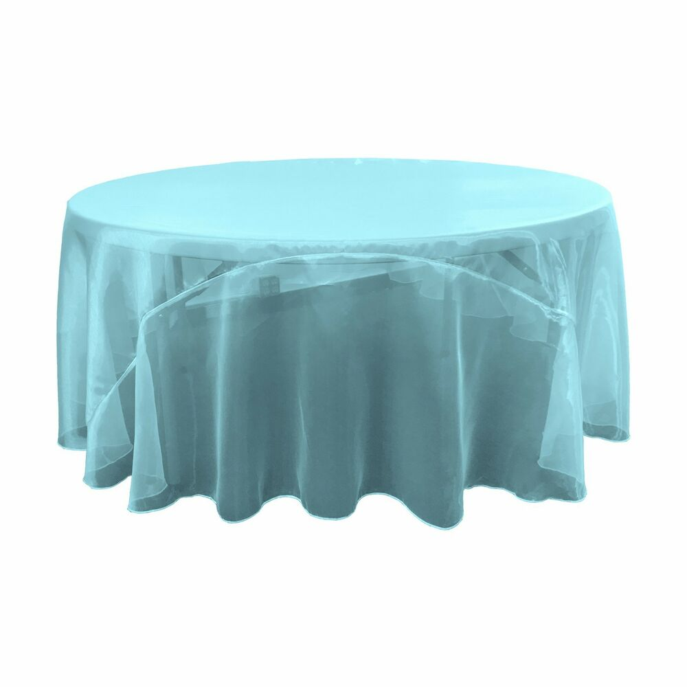 la linen sheer mirror organza tablecloth 120 inch round