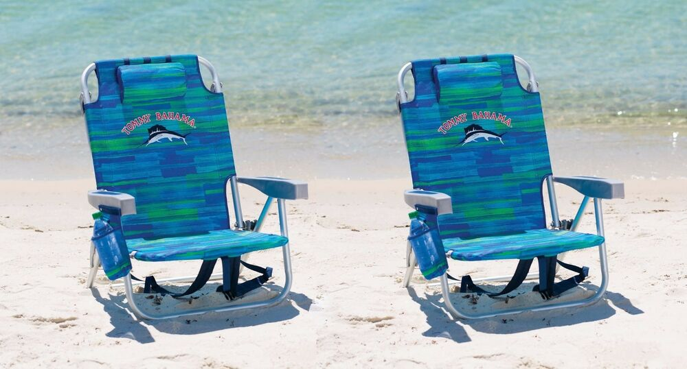 2 bahama backpack cooler chair blue ebay