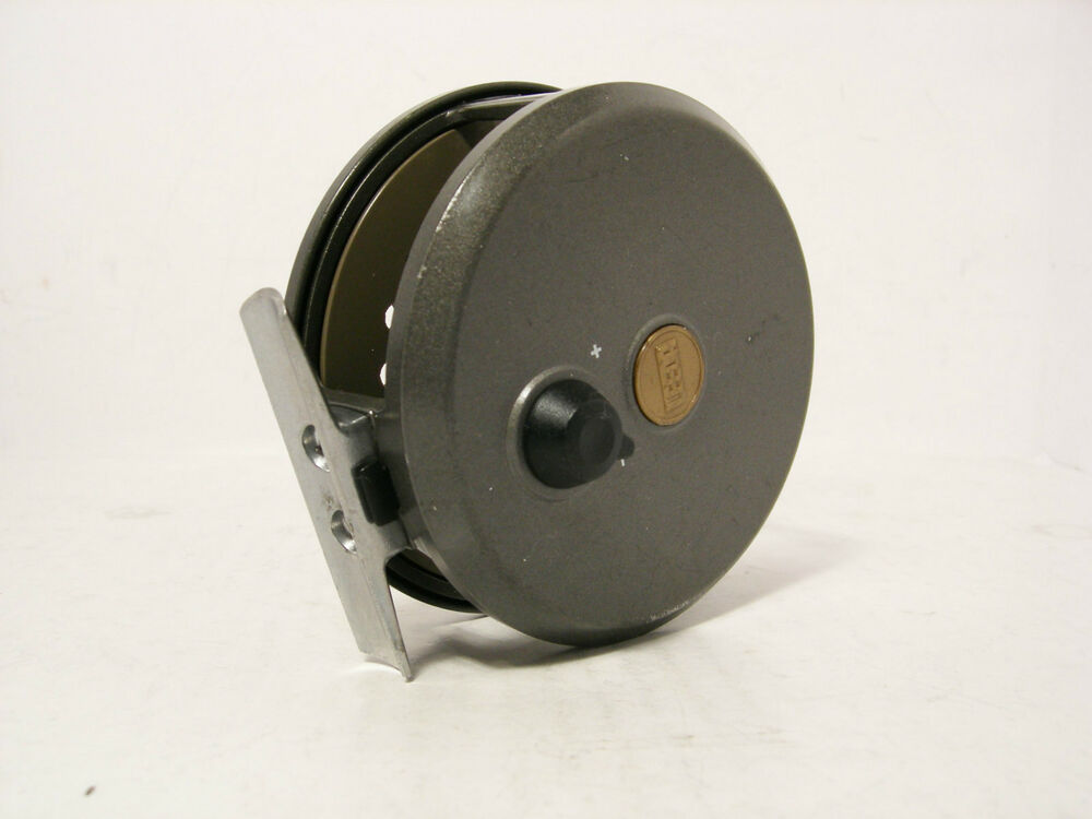 Leeda rimfly concept 395 3 alloy fly fishing reel ebay for Fly fishing reels ebay