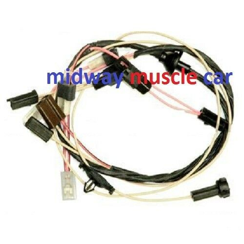 Cowl Induction Hood Wiring Harness 70 71 72 Chevy Chevelle