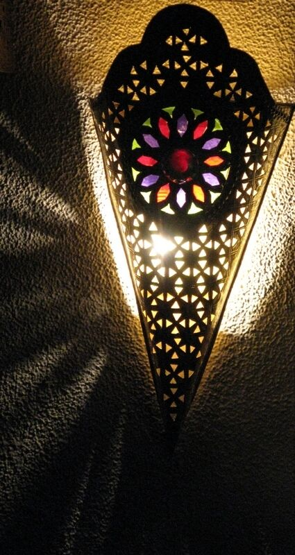 Moroccan Glass Wall Lights : Moroccan Wall Light Sconce- Moroccan Wall Sconces- Moroccan brass wall sconce eBay