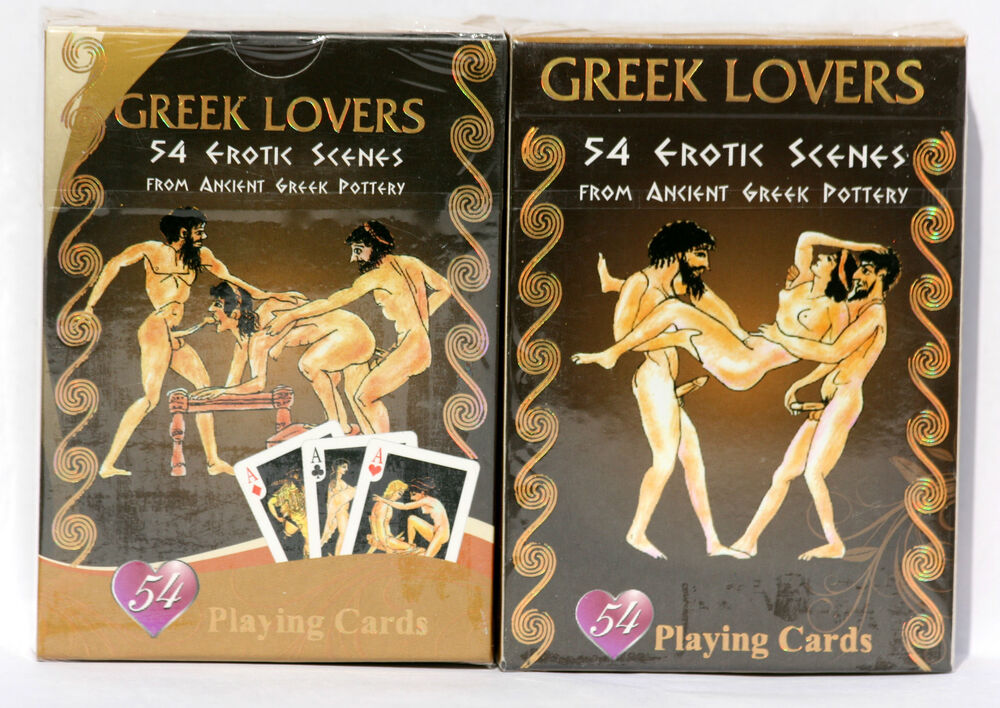 Sex position playing card deck version