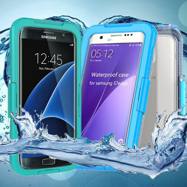 samsung galaxy s7 waterproof case shockproof dirt snow cover for galaxy s7 edge ebay. Black Bedroom Furniture Sets. Home Design Ideas