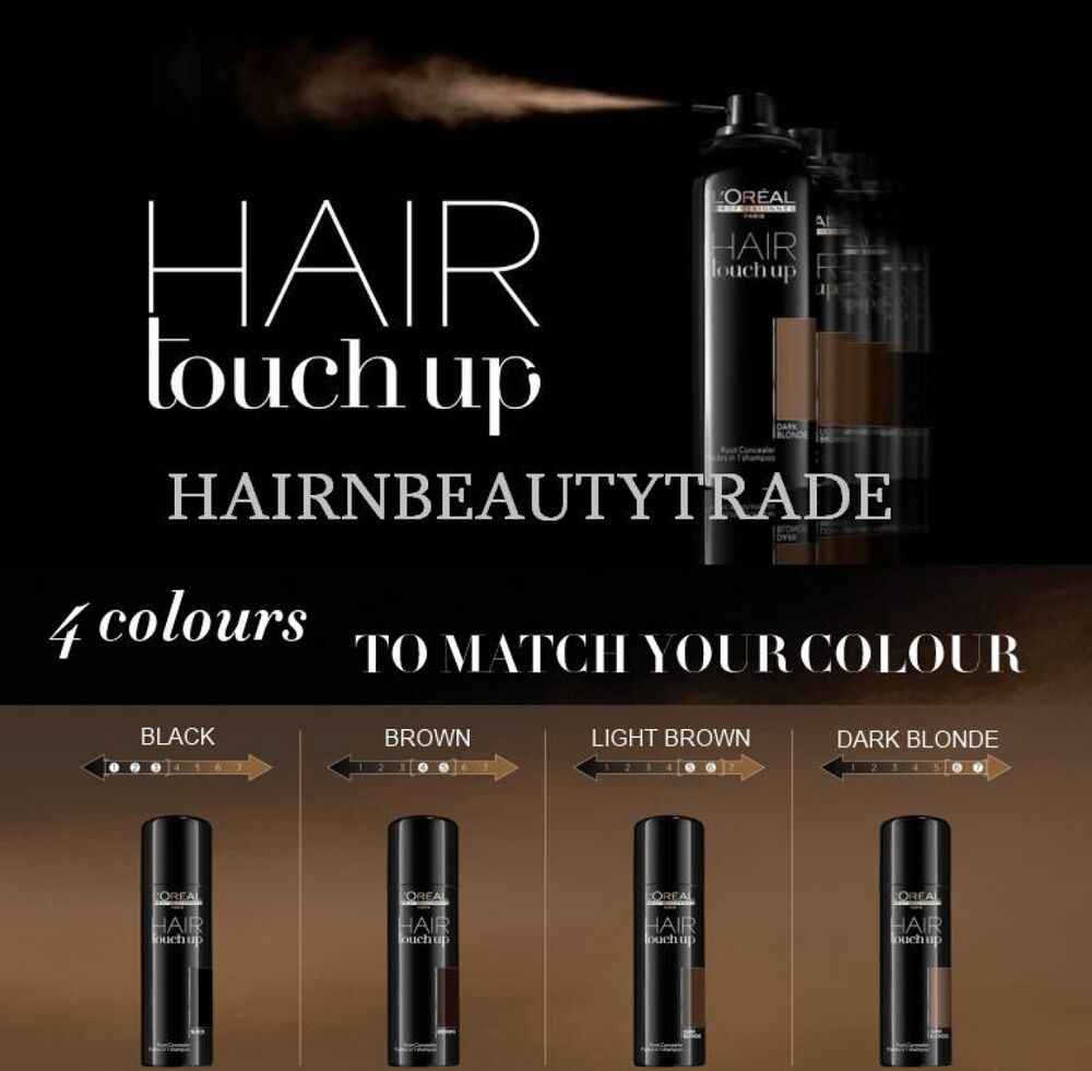 L Oreal Professionnel Hair Touch Up 75ml Root Concealer
