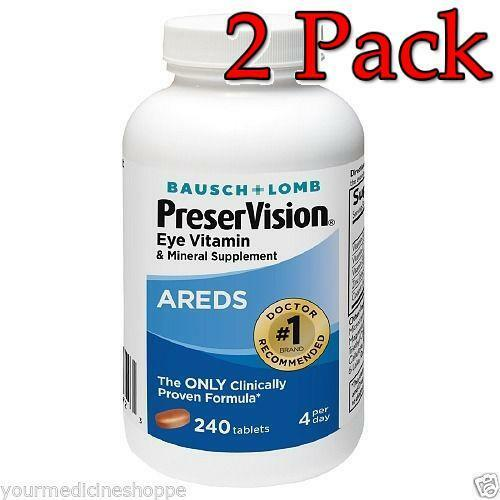 Eye vitamins areds