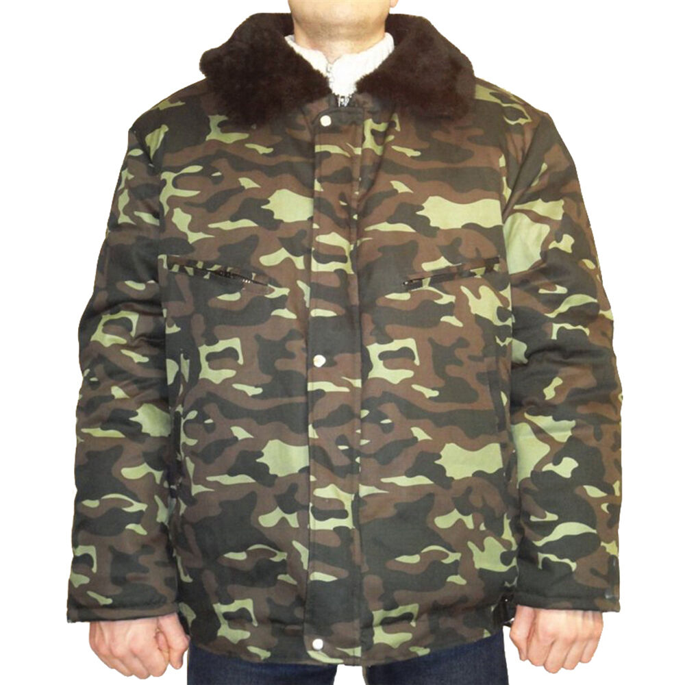 New Russian Modern Army Military Winter Camo Jacket
