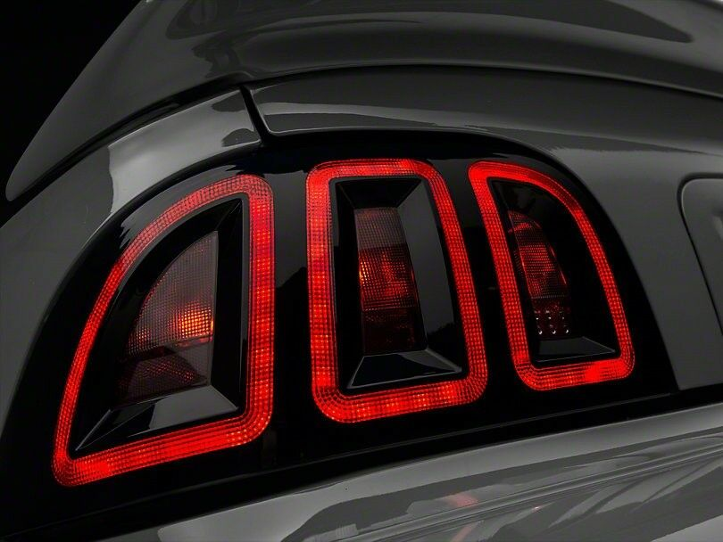 Truck Tail Lights >> Raxiom Icon LED Ford Mustang Tail Lights (96-98 All) | eBay