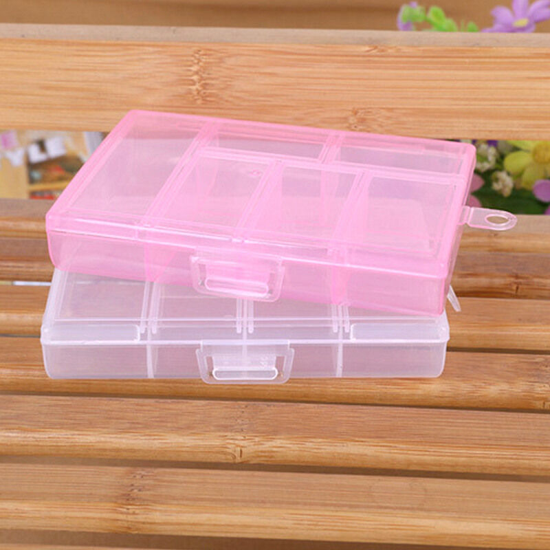 New compartments plastic box jewelry bead storage for Craft storage boxes plastic