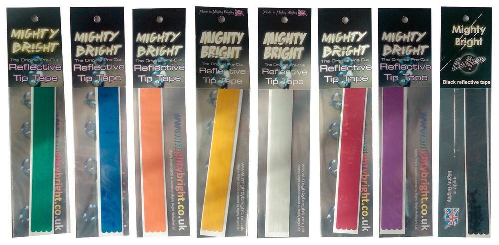 Mighty Bright Reflective Tip Tape Fishing Rod Accessories Breakaway Tackle Ebay