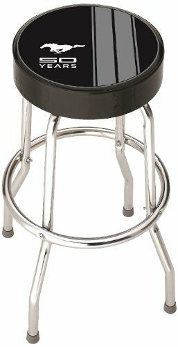 Plasticolor 004787r01 Ford Mustang Garage Stool New