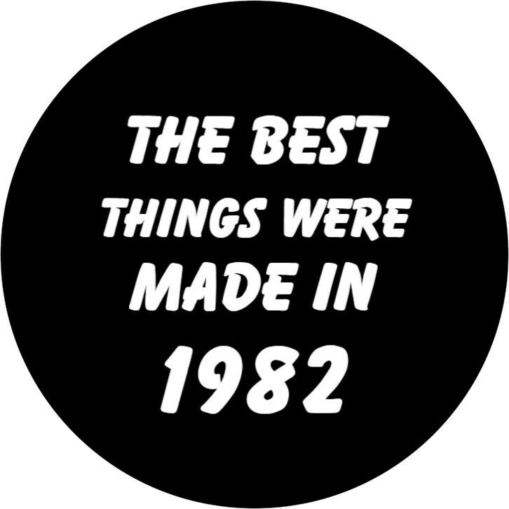 40th Birthday Badge Best Things Were Made In 1977pin