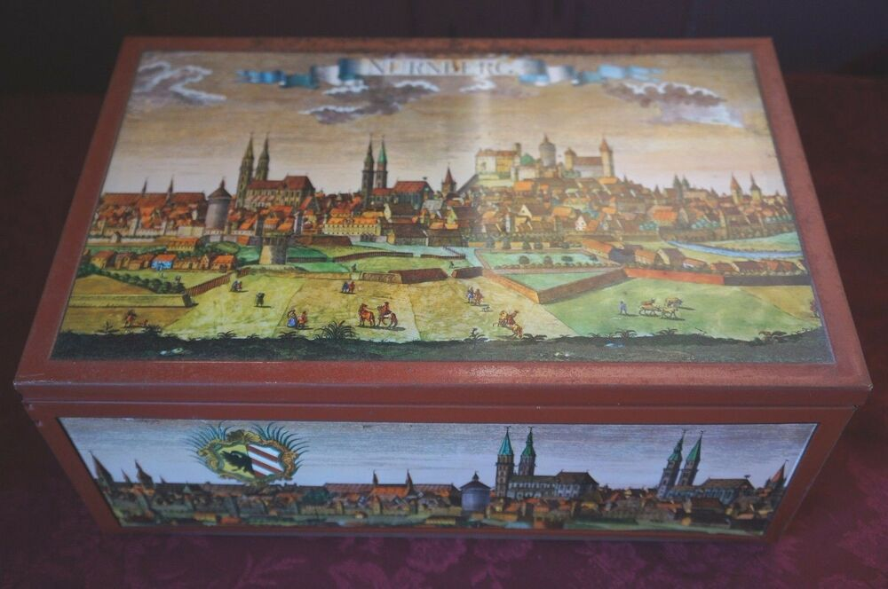 e otto schmidt nurnberg tin made in west germany ebay. Black Bedroom Furniture Sets. Home Design Ideas
