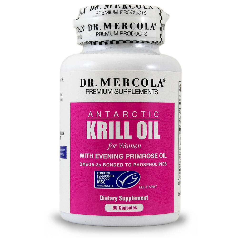 Dr mercola krill oil for wome with evening primrose for Krill or fish oil