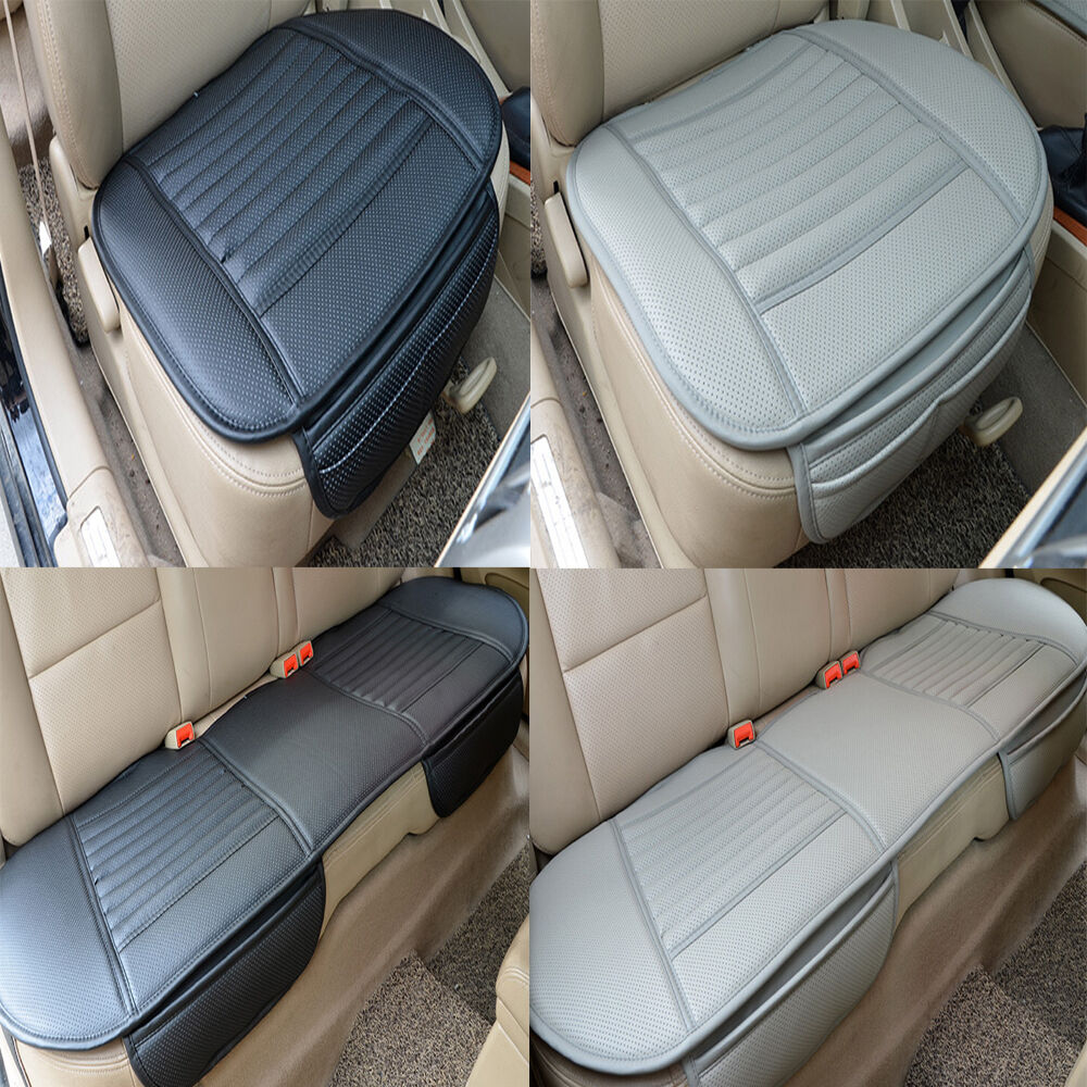 car pu leather seat cover universal protection pad supplies car seat cushion ebay. Black Bedroom Furniture Sets. Home Design Ideas