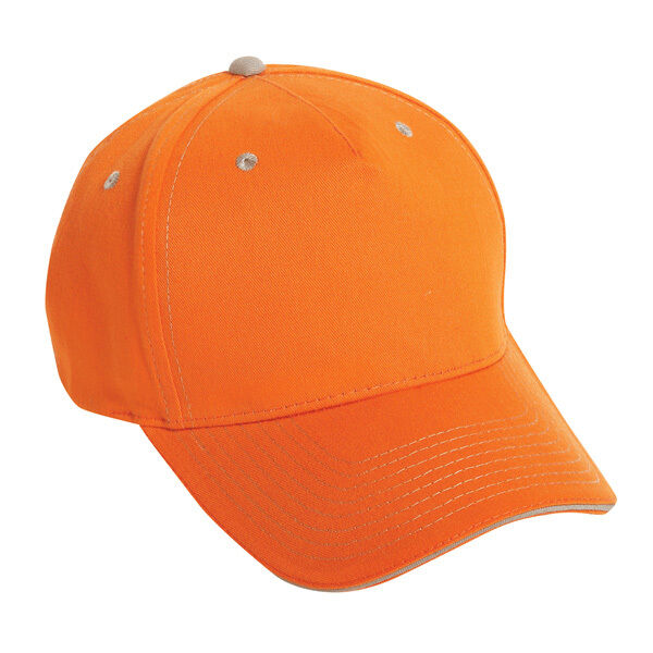 38227027a5e 1 Dozen (12) TN. Orange Khaki Blank Cotton twill Golf Baseball Hats ...
