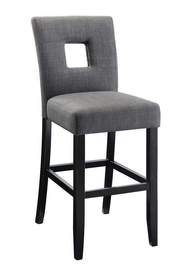 Charcoal Fabric Counter Height Dining Chair By Coaster 106676 Set Of 2 EBay