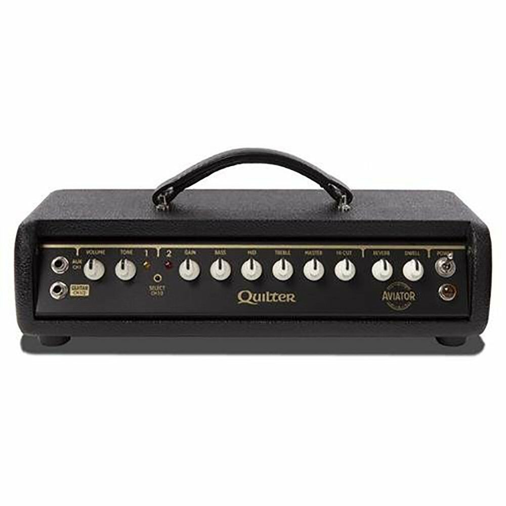 quilter labs aviator gold 2 channel 100w compact light portable guitar amp head ebay. Black Bedroom Furniture Sets. Home Design Ideas