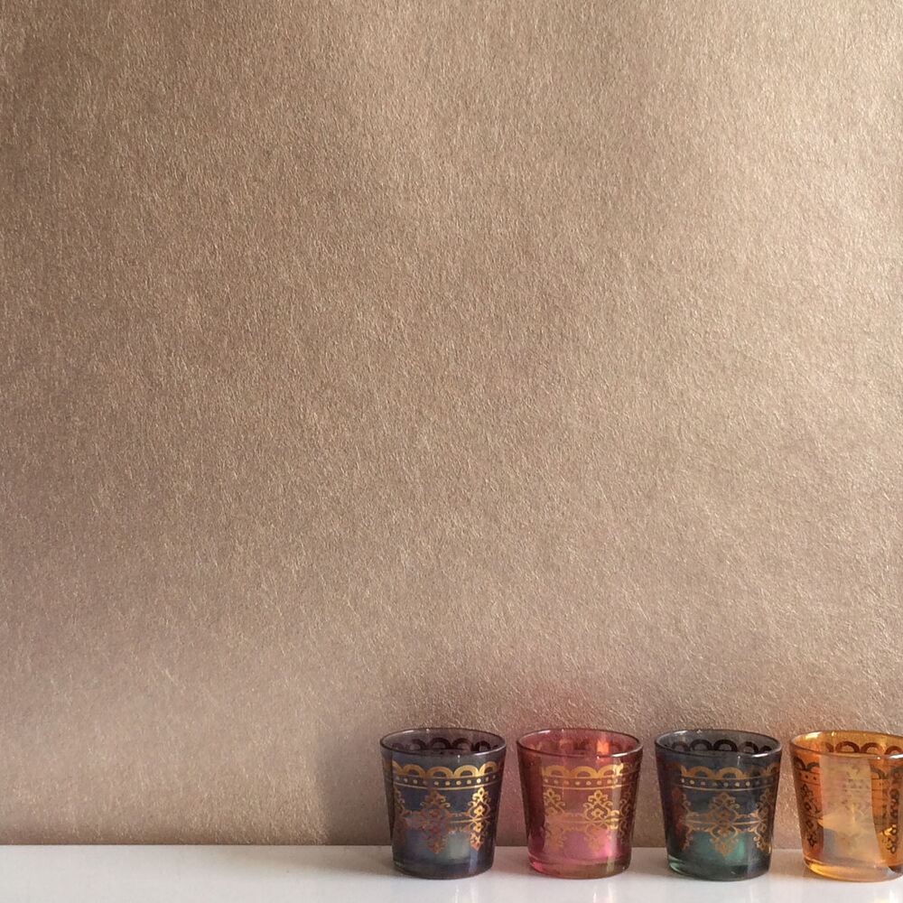 Details about Calm Metallic - Trendy Metallic Finely Textured Plain Wallpaper in Rose Gold