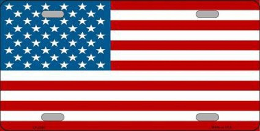 American flag metal novelty front license plate tag ebay for American frame coupon code