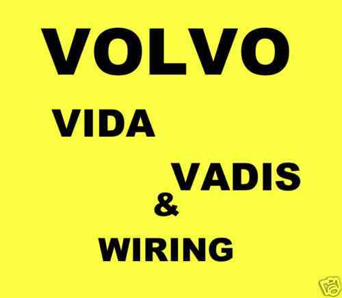 volvo vida diagnostic vct2000 dice ewd vadis repair. Black Bedroom Furniture Sets. Home Design Ideas