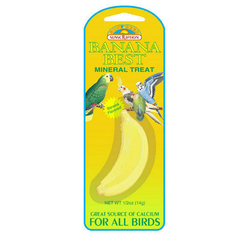 bird mineral stone calcium source with banana flavor for parakeet budgie finch ebay. Black Bedroom Furniture Sets. Home Design Ideas
