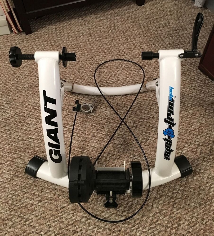 Giant Cyclotron Mag Indoor Bicycle Cycling Trainer White