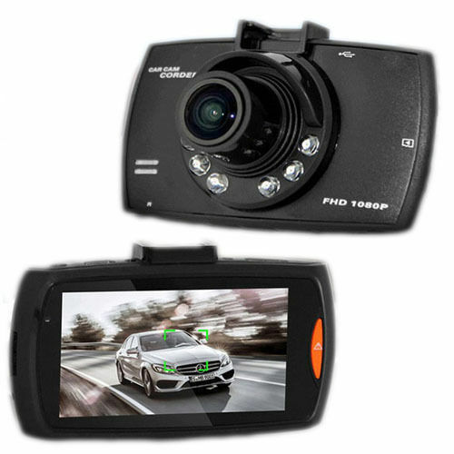 VIDEOCAMERA CAMERA REGISTRATORE DVR PER AUTO MONITOR HD 1080P  2.7
