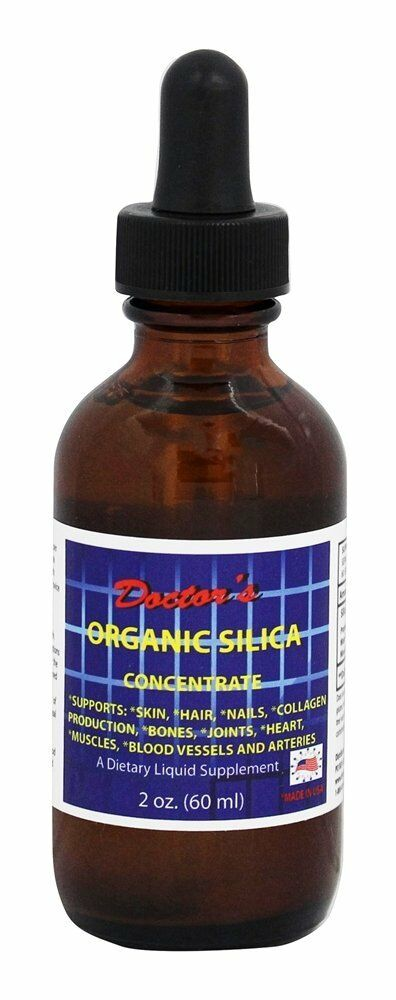 Liquid silica for hair