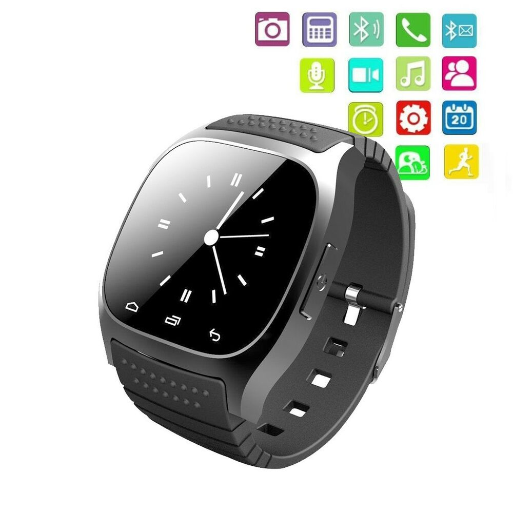 M26 Wrist Smart Watch Waterproof Phone Mate For Android ...