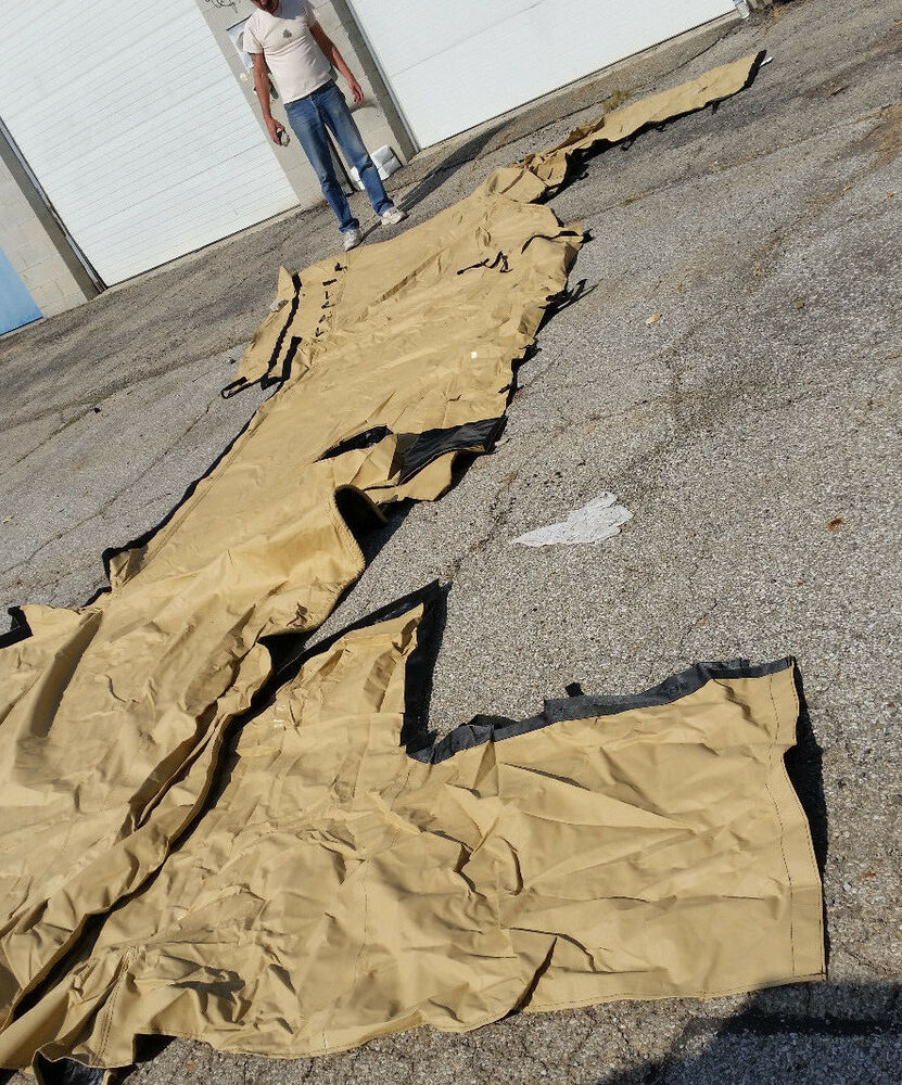 New Us Army Tan Tent Canvas Amp Hardware Military Vehicle