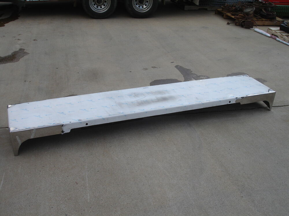 Valley Chrome Bumpers : Valley chrome plating freightliner stainless steel bumper