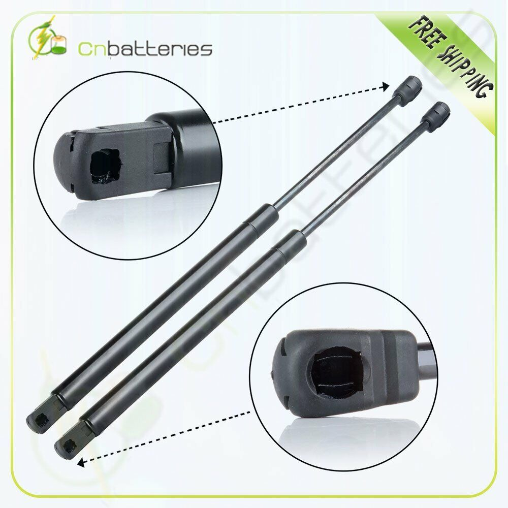 qty 2 rear window glass lift supports shocks struts for