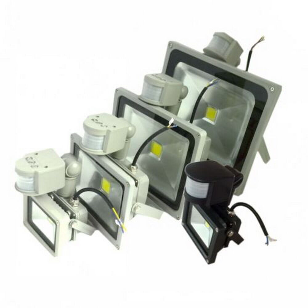 glw pir motion sensor led flood light lamp outdoor floodlight 10 20. Black Bedroom Furniture Sets. Home Design Ideas