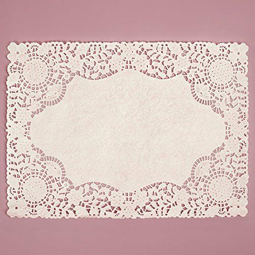 9 inch square paper doilies Mcdonald paper & restaurant supplies  cardboard cake circles  9-inch white round corrugated cardboard circles, cake pie bakery paperboard pads trays (50).