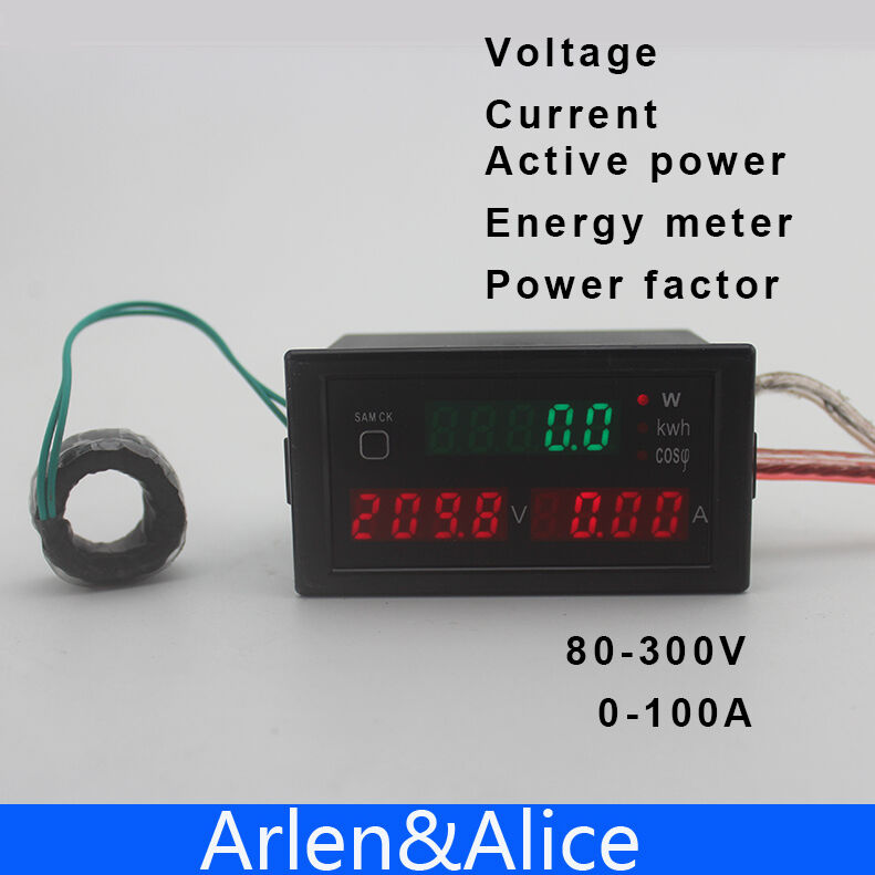Power Factor Meter : Dl multi functionalled display electric energy and power