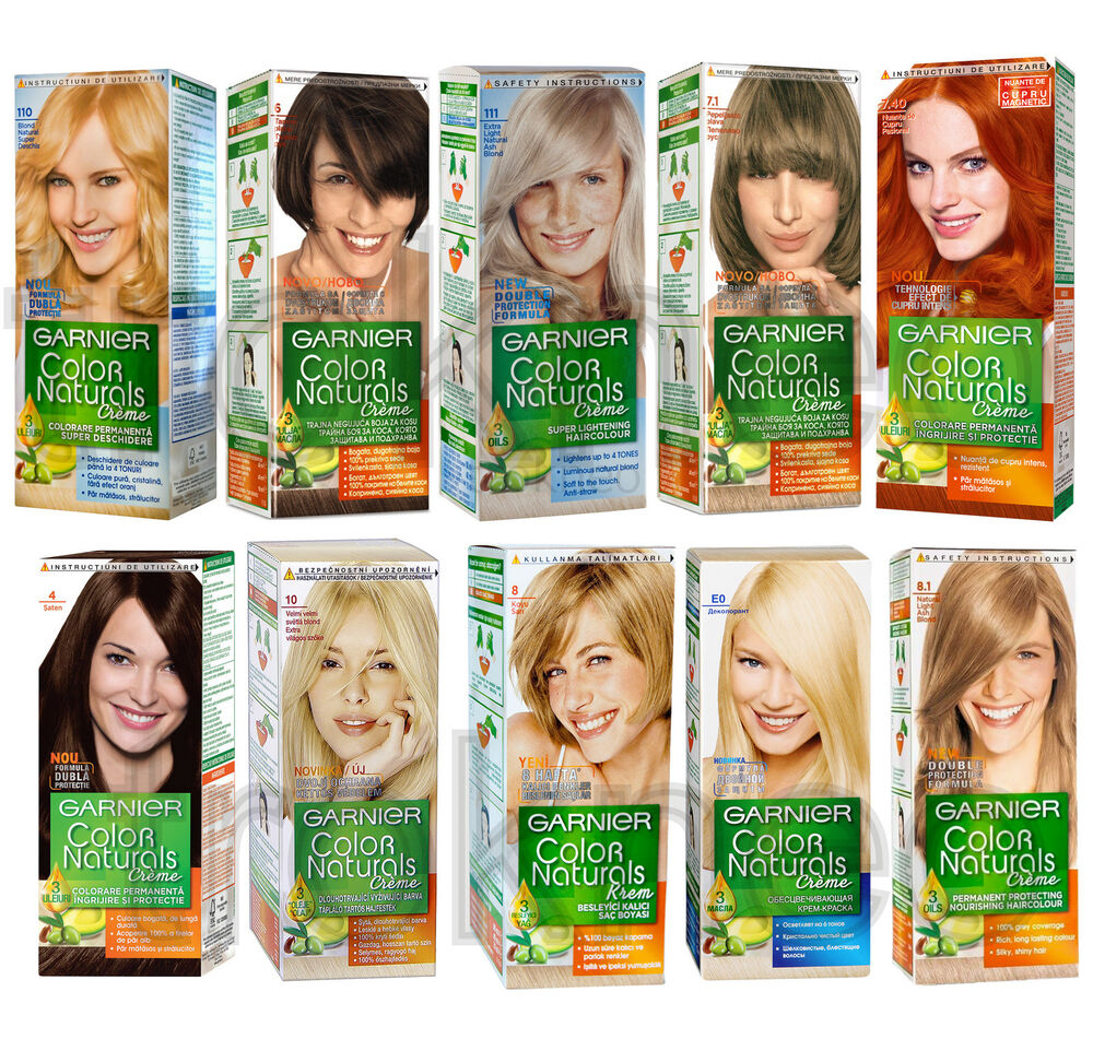 Garnier Color Naturals Creme Hair Color For Your Choice | eBay