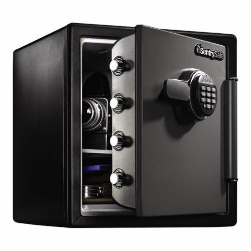 fireproof security safe electronic lock keypad documents valuables cash lock box ebay. Black Bedroom Furniture Sets. Home Design Ideas