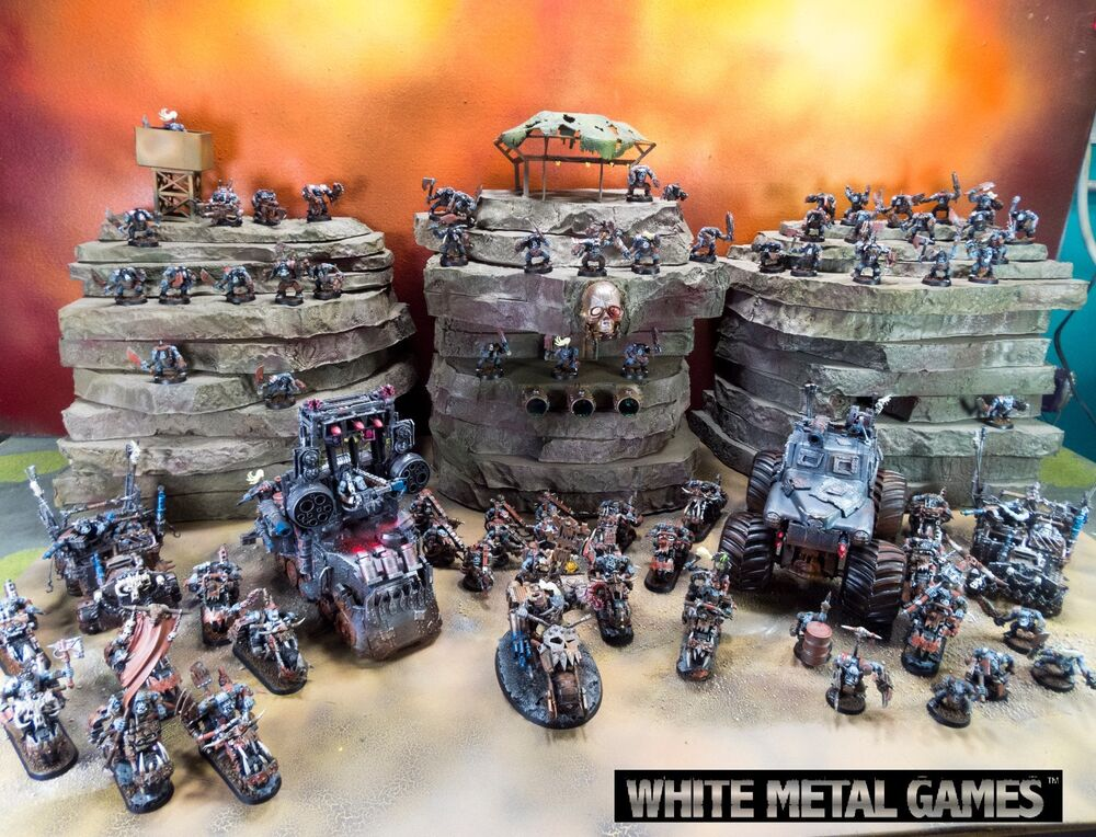 Warhammer K Orks Red Paint