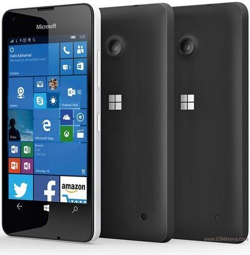 Brand new microsoft nokia lumia 550 black 4g lte sim free for Window 4g phone