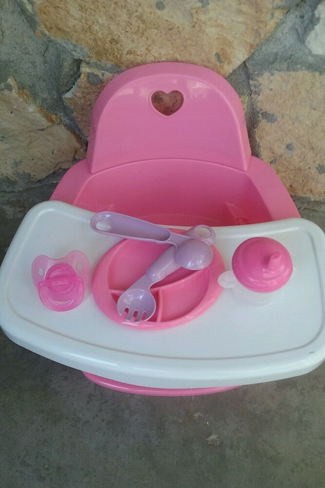Feeding Chair High Chair With Extras For Baby Alive Dolls