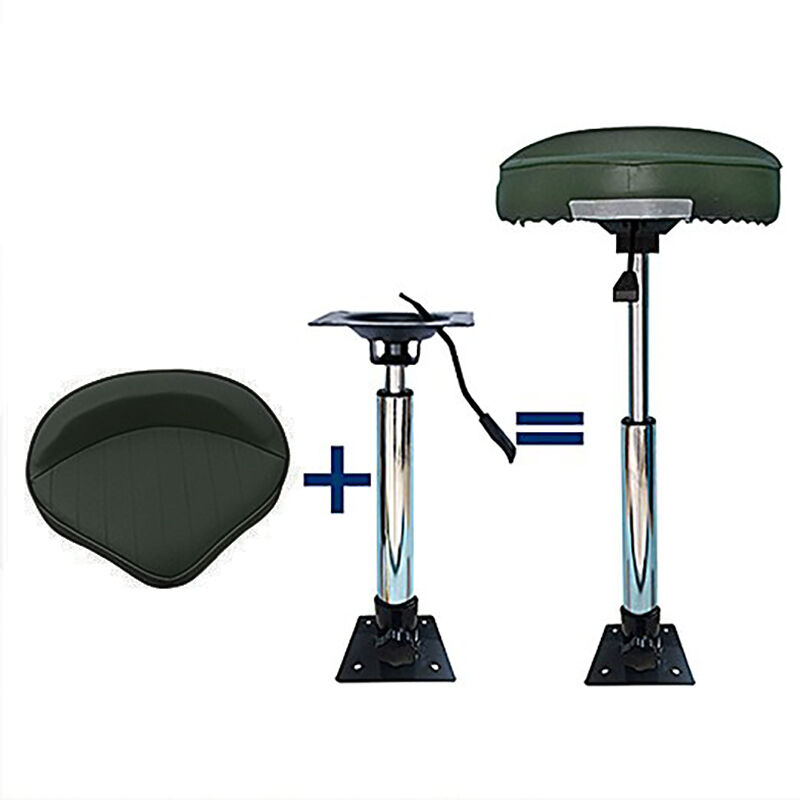 360 Swivel Bass Boat Seat Adjustable Height Power Pedestal
