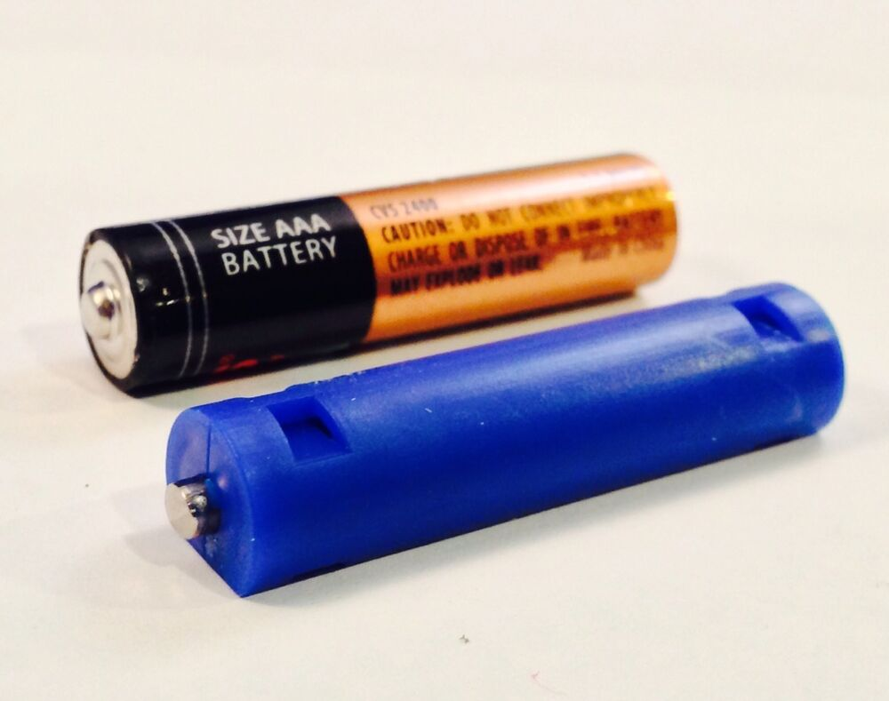 aaa size dummy battery qty 4 shorted slug short circuit