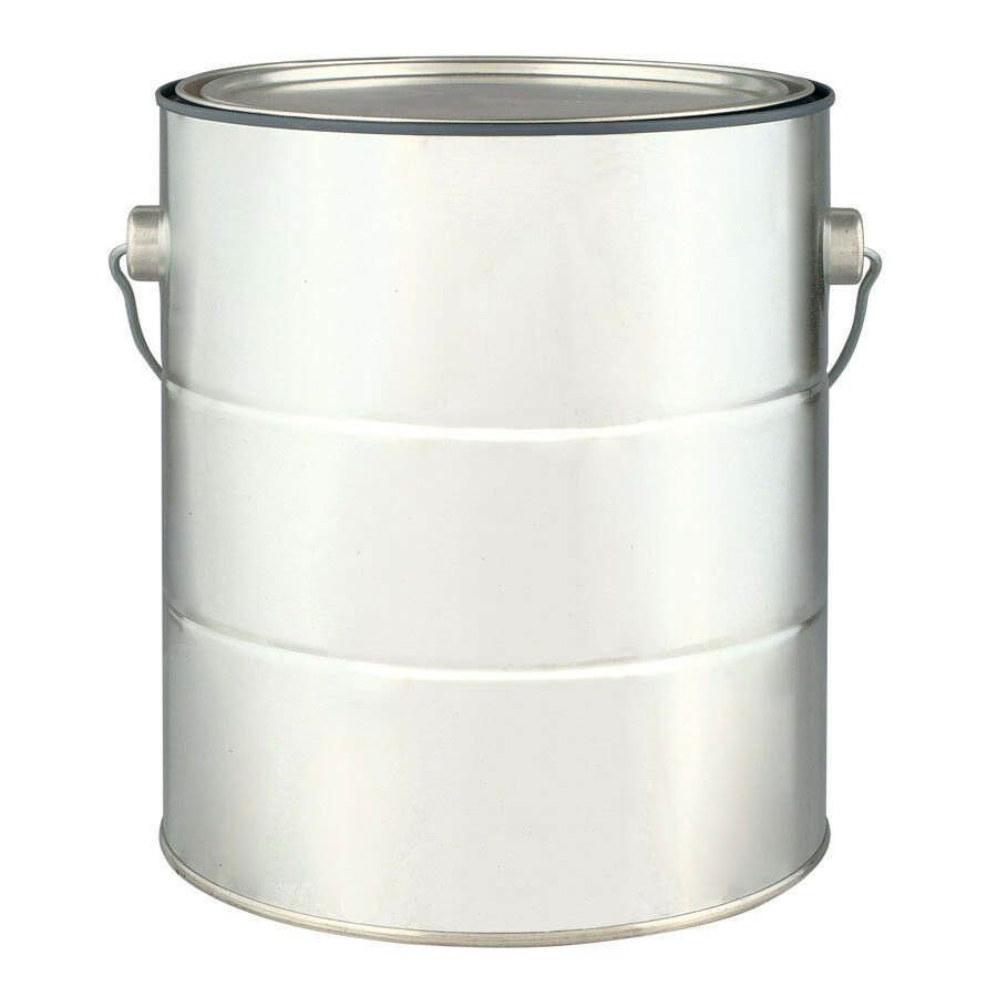 Empty gallon paint can with lid and handle new 4 empty for 1 gallon clear plastic paint cans