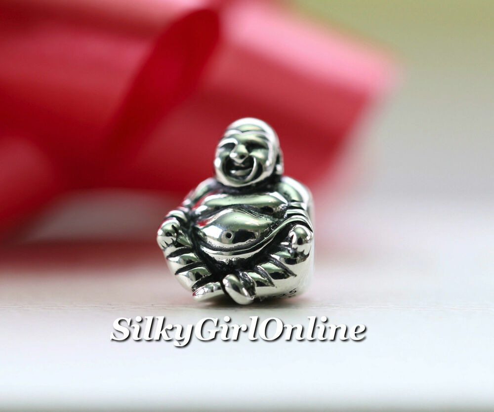 Pictures Of Charm Bracelets: Authentic Pandora Buddha Sterling Silver Charm 790478