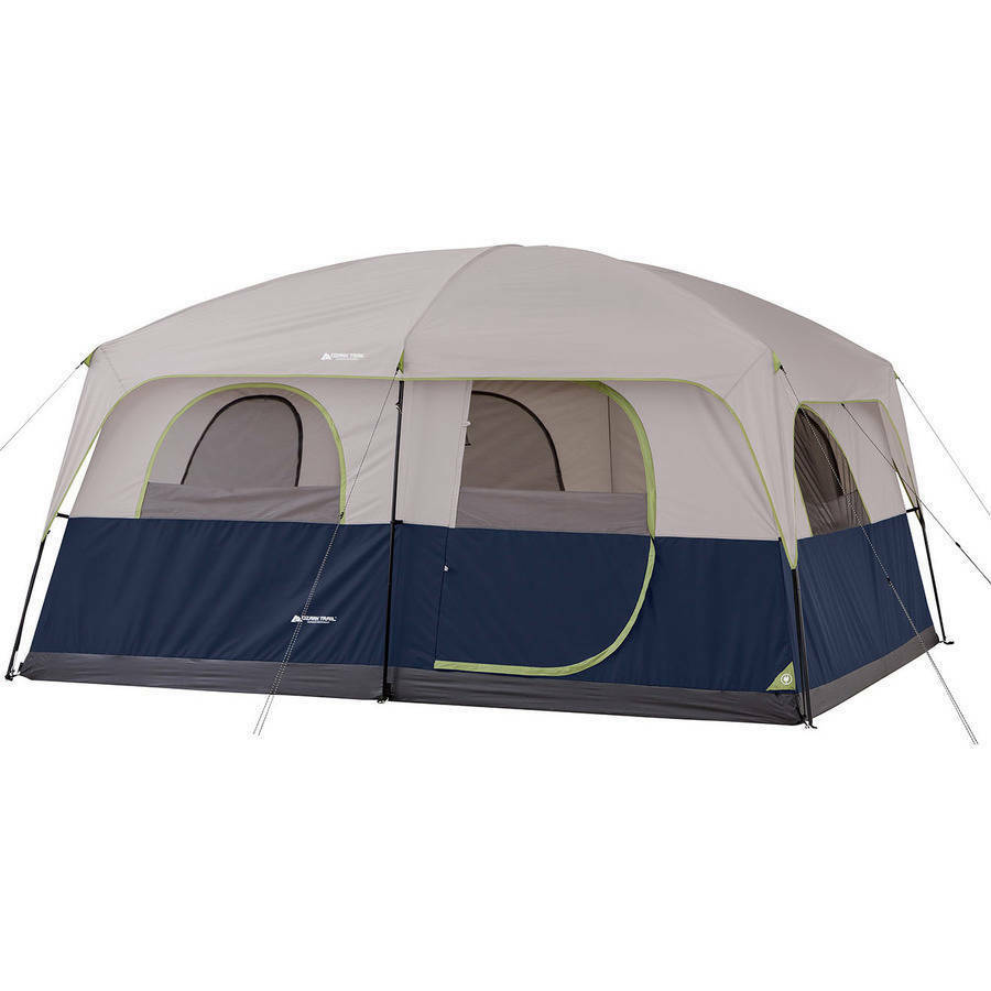 10 Person Camping Tent 3 Room Enlarged Waterproof Outdoor