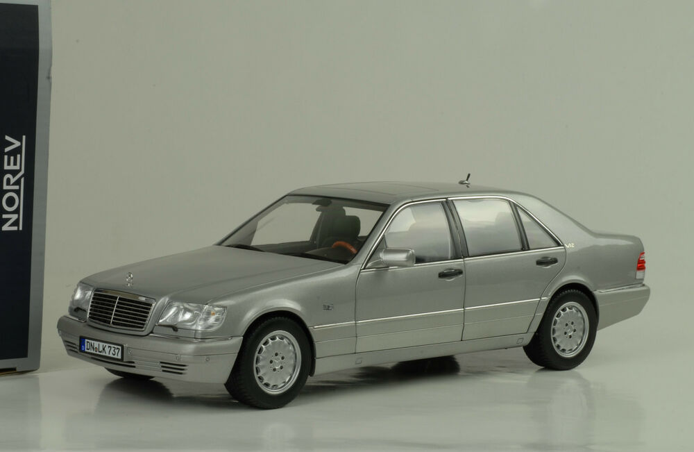 1997 mercedes benz s600 v12 w140 silver silber light grey for 1997 mercedes benz s600